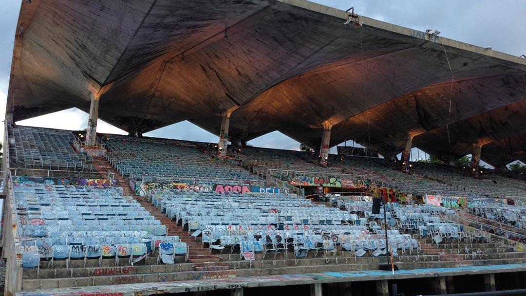 Rosa Lowinger Miami Marine Stadium