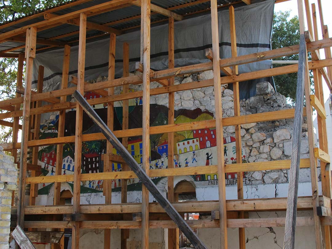 rosa lowinger haiti wall rescue